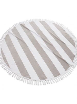 Cabana Round Cotton Beach Towel