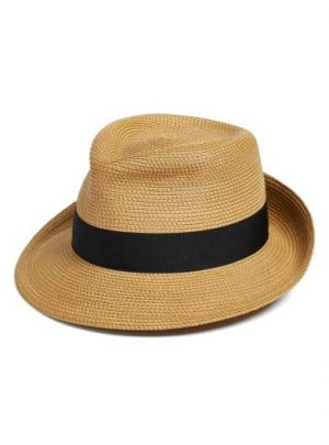Packable Fedora Sun Hat