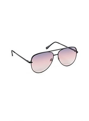 Quay Desi Perkins Sahara 60mm Aviator Sunglasses