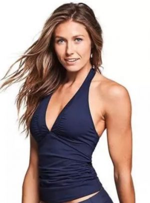 Shirrendipity Halter Tankini